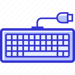 computer, device, keyboard, technology icon