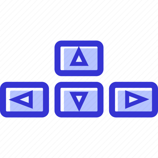 arrows, computer, direction, keyboard arrows icon