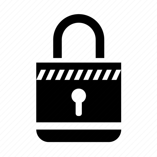 lock, locked, padlock, protection, safe, secure, security icon