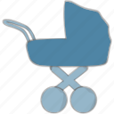 baby, carriage, newborn, stroller icon