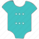 baby clothes, kids outfit, newborn clothes icon