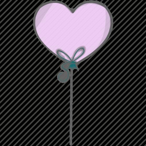baby, ballon, birthday, toy icon