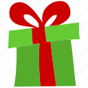 birthday, celebration, christmas, decoration, gift, present, ribbon icon