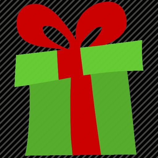 birthday, celebration, christmas, decoration, gift, present, ribbon icon