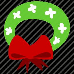 christmas, decoration, garland, prize, winter, wreath, xmas icon