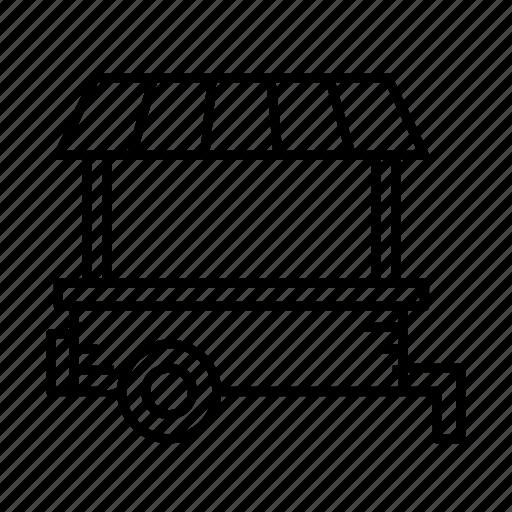kiosk, market shop, mini market, shop, small shop, stall icon