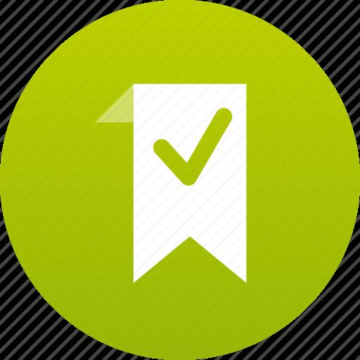 add, bookmark, check mark, favorite icon