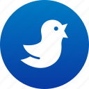 bird, tweet, tweeting, twitter icon