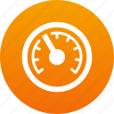 speed, speedometer icon