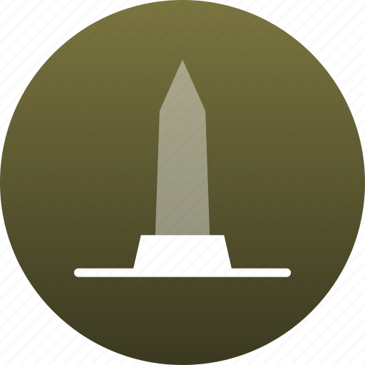 monument, obelisk, stella icon