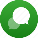 bubble, chat, comment, dialogue, discussion, message, messaging, speech, talk, talking, text