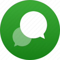 bubble, chat, comment, dialogue, discussion, message, messaging, speech, talk, talking, text icon