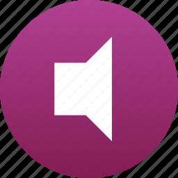 audio, music, sound, speaker icon