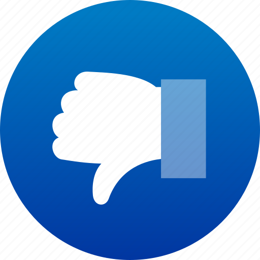 dislike, hand, no, thumb down, vote, voting icon