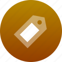 label, tag icon
