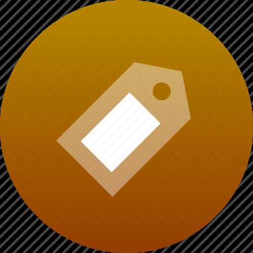 label, tag icon