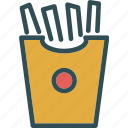 drink, food, frenchfries, grocery, kitchen, restaurant icon