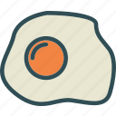 drink, egg, food, fried, grocery, kitchen, restaurant icon