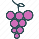 drink, food, grapestock, grocery, kitchen, restaurant icon