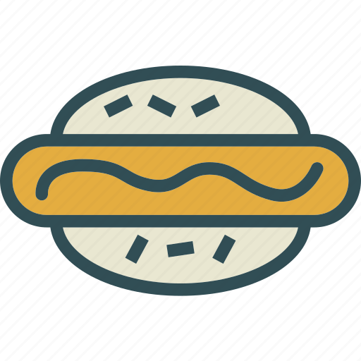 dogbun, drink, food, grocery, hot, kitchen, restaurant icon