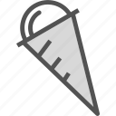 cone, drink, food, grocery, icecream, kitchen, restaurant icon