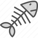 bone, drink, fish, food, grocery, kitchen, restaurant icon