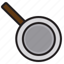 accessories, kitchen, pan, tools icon