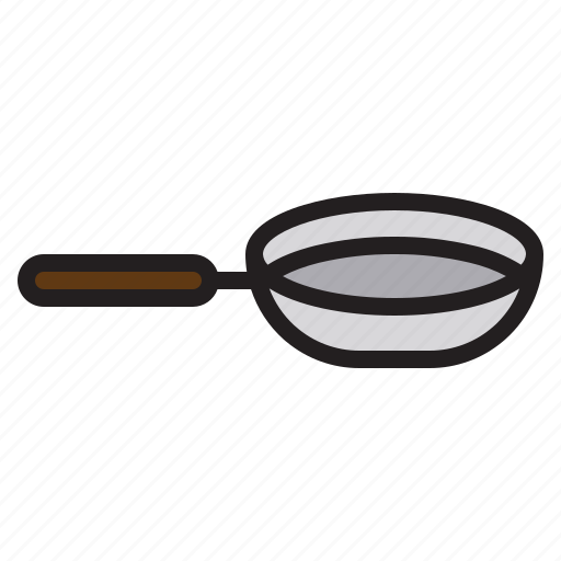 Tools, accessories, pan, kitchen icon