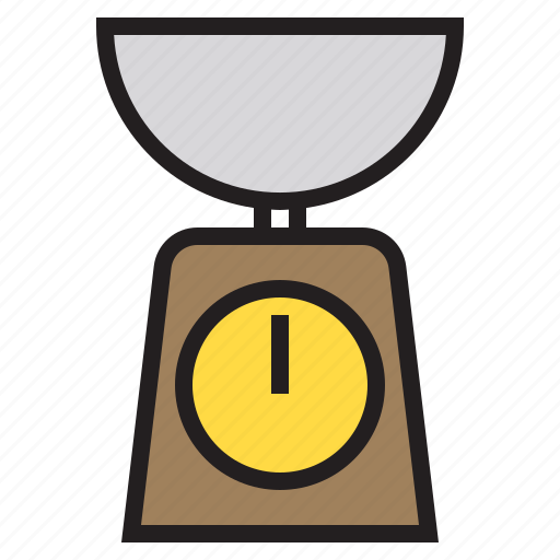 accessories, kitchen, scales, tools icon