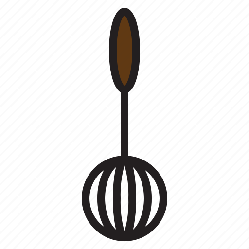 accessories, kitchen, tools, whisk icon