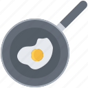 cook, cooking, egg, fried, frying, kitchen, pan