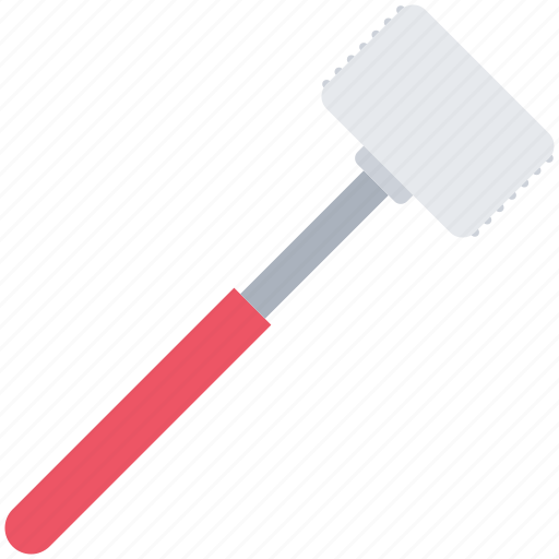 Chef, cook, cooking, hammer, kitchen, meat icon - Download on Iconfinder