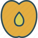 drink, food, grocery, kitchen, peach, restaurant icon