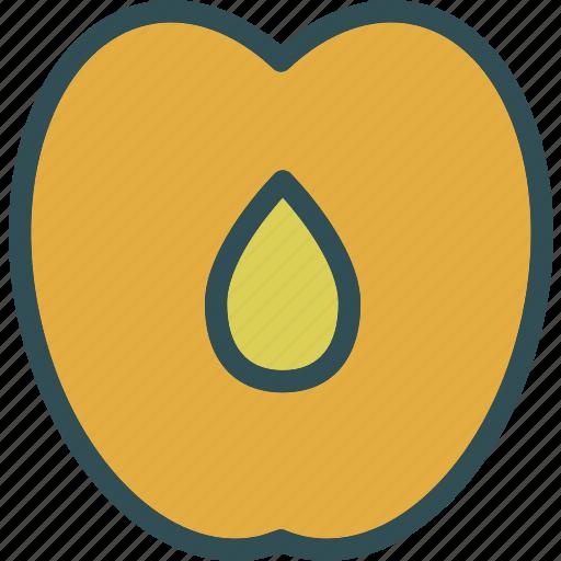 drink, food, grocery, kitchen, peach, restaurant icon
