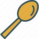 drink, food, grocery, kitchen, restaurant, spoon icon