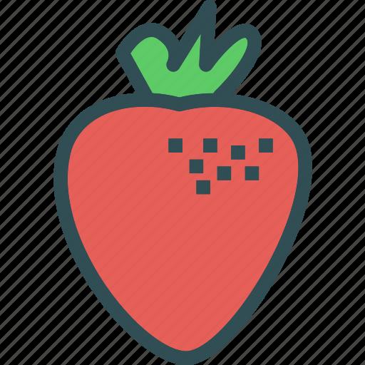 drink, food, grocery, kitchen, restaurant, strawberry icon