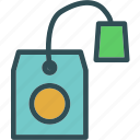 bag, drink, food, grocery, kitchen, restaurant, tea icon