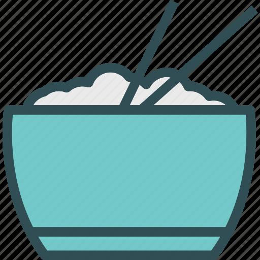 drink, food, grocery, kitchen, restaurant, ricebowl icon