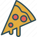 drink, food, grocery, kitchen, restaurant, slicepizza icon