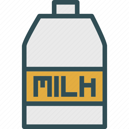 drink, food, grocery, kitchen, milk, restaurant icon