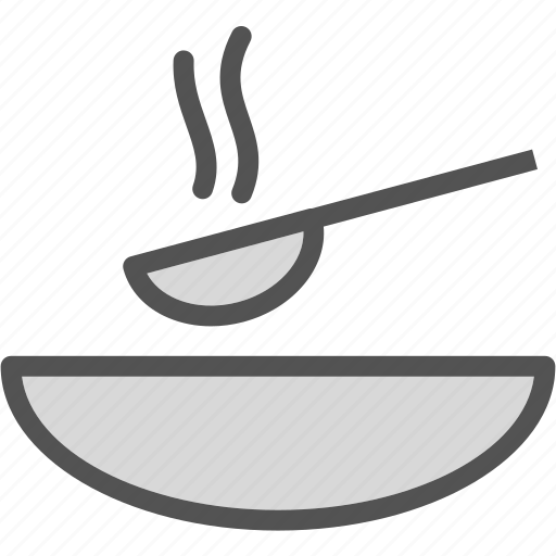 bowl, drink, food, grocery, kitchen, restaurant, soup icon
