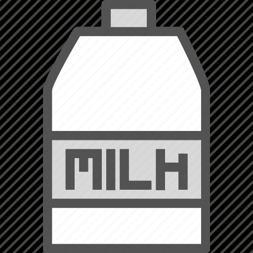 drink, food, grocery, kitchen, milk, restaurant icon