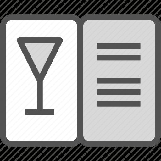 drink, food, grocery, kitchen, menu, restaurant, wine icon