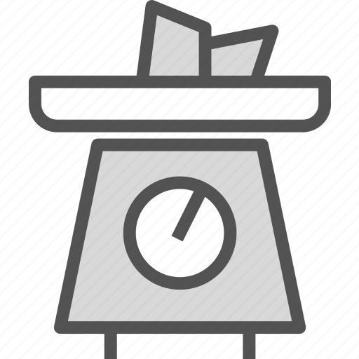 drink, food, grocery, kitchen, restaurant, scale icon