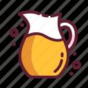 beverage, drink, jug, juice, lemon
