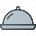 cloche, food, kitchen, restaurant icon