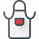 apron, coock, kitchen icon