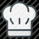 chef, coock, hat, kitchen
