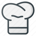 chef, coock, hat, kitchen icon