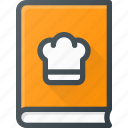 book, coock, cookbook, kitchen icon